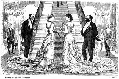 Rivals in Social Success, 1880