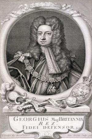 George I, King of Great Britain, 1718