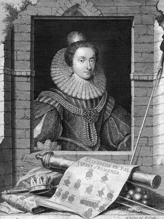 Elizabeth of Bohemia, C1700-1750
