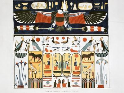 Mural from the Tombs of the Kings at Thebes, 1820