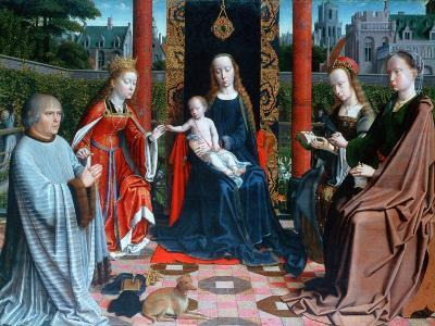 The Mystic Marriage of St Catherine, 1505-1510