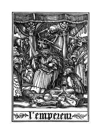 The Emperor Visited by Death, 1538