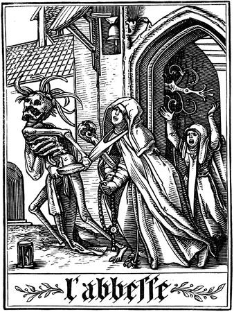 The Abbess Visited by Death, 1538