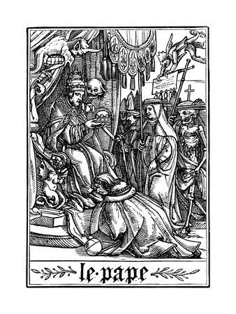 The Pope Visited by Death, 1538