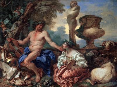 Pastoral Scene. Faun and Shepherdess, 1650S