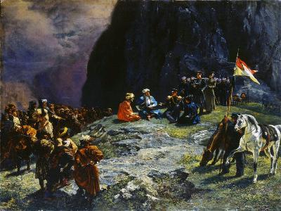 The Meeting of General Klüke Von Klügenau and Imam Shamil in 1837, 1849