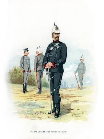 The 2nd Queen's Own Rifles (Canad), C1890