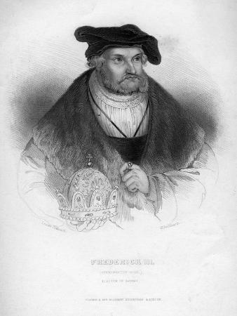 Frederick III, Elector of Saxony, (1463-152)