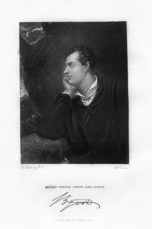 Lord Byron, Anglo-Scottish Poet, C1813