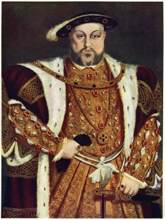Henry VIII, C1517-1540