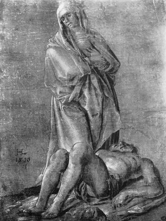 The Virgin and the Dead Christ, 1913
