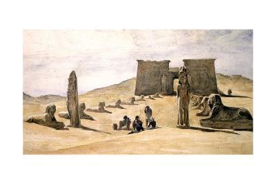 Temple at Asseboua, Egypt, 19th Century