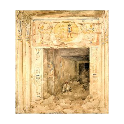 Temple Edfu, Egypt, 19th Century