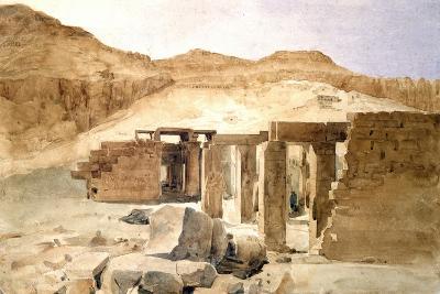 Le Rhamesseion, Egypt, 19th Century