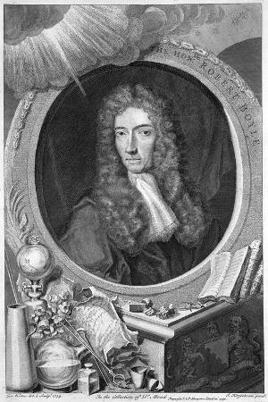 Robert Boyle, 17th Century Irish Chemist and Physicist, 1739
