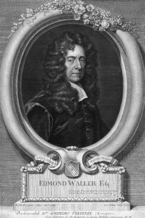 Edmond Waller, 17th Century English Poet