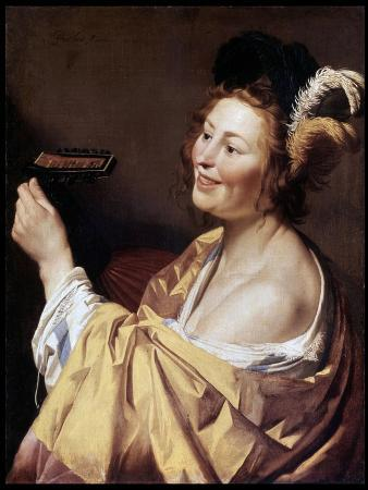 The Luteplayer, 1624