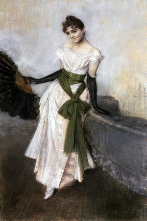 Portrait of Emiliana Concha De Ossa, 1888