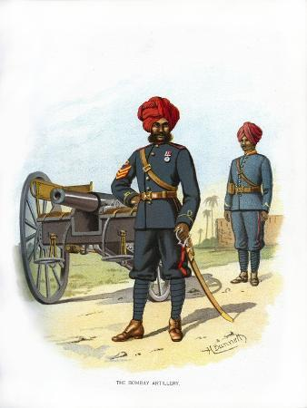 The Bombay Artillery, C1890