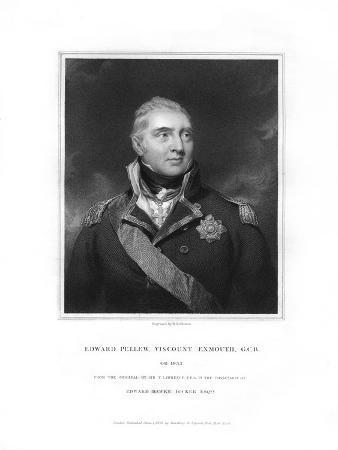 Edward Pellew, 1st Viscount Exmouth, British Naval Officer