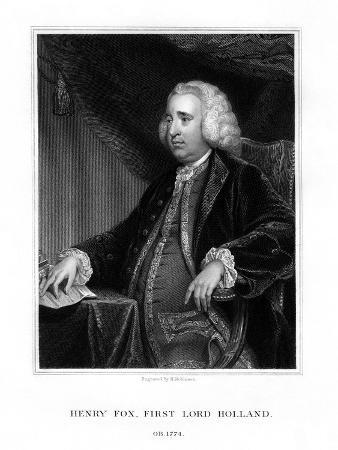 Henry Fox, 1st Baron Holland, Whig Statesman