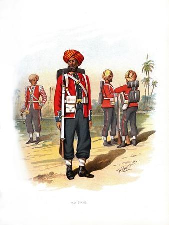 15th Sikhs, C1890