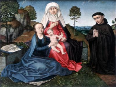 St Anne, the Virgin and Child and a Donor