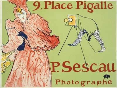9, Place Pigalle, P. Sescau Photographe, 1894