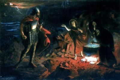 Macbeth and the Witches, Late 19th Century