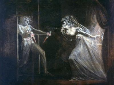 Lady Macbeth Seizing the Daggers, Exhibited 1812