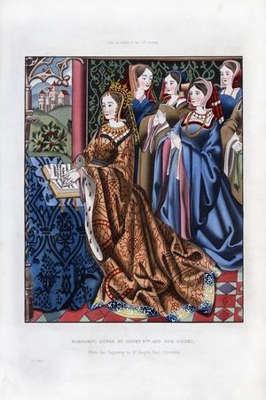 Margaret, Queen of Henry VI, and Her Court, Mid-15th Century
