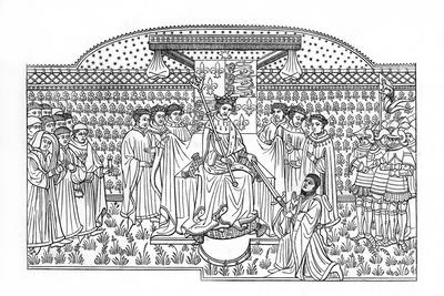 King Henry VI Presenting a Sword to the Earl of Shrewsbury, C1445