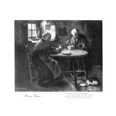 Burns' Grace, Late 19th Century