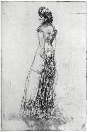 Maude, Standing, 1873