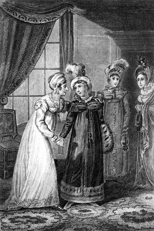 The Last Interview Between Her Majesty and Princess Charlotte, 1820