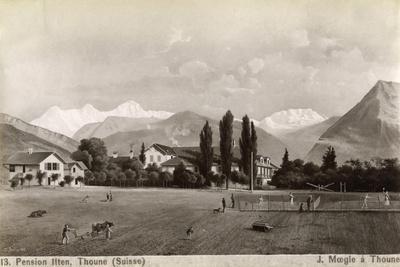 Pension Liten, Thun, Switzerland, 1885