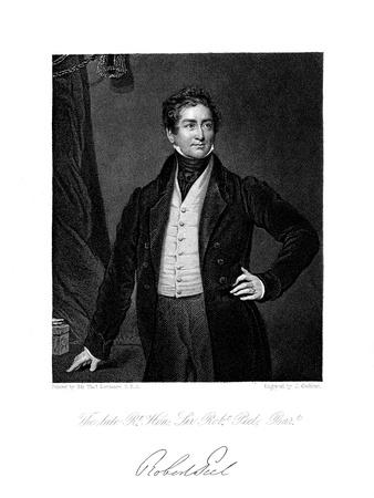 Robert Peel, British Statesman, 19th Century