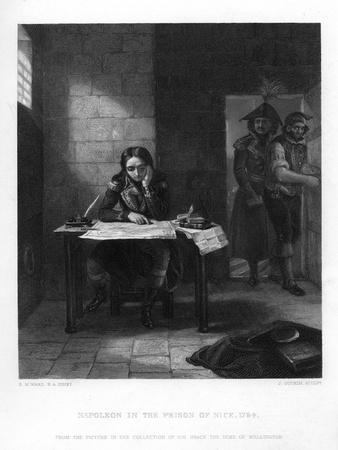 Napoleon in Prison at Nice, France, 1794