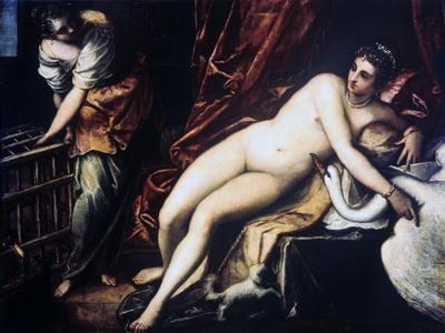 Leda and the Swan, 1550-1560