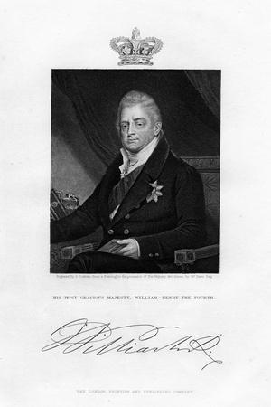 William IV, King of the United Kingdom, 19th Century