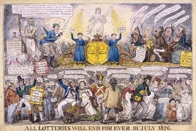 Lotteries, 1826