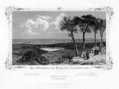 The Gulf of Baja from Camaldoli, Italy, 19th Century