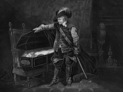 Cromwell Viewing the Dead Body of Charles I, 1649