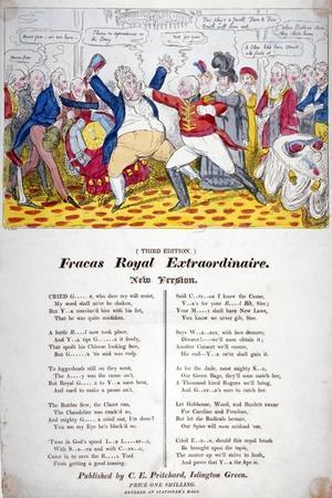 Fracas Royal Extraordinaire, 1820