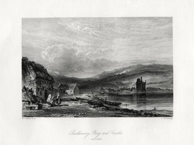 Scalloway Bay and Castle, Zetland, 19th Century