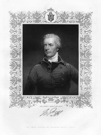 William Pitt, the Younger, British Politician and Prime Minister, 19th Century