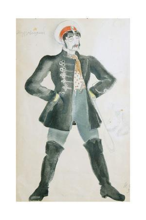 Costume Design for the Theatre Play Wolves and Sheep, 1934