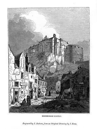 Edinburgh Castle, C1535-1570