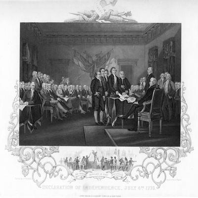 Declaration of Independence, 1776 (C1817-C181)