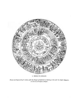 Shield of Achilles, 1843